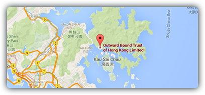 Outward Bound Google Maps image